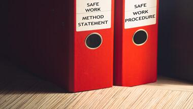 safe work methods and procedures