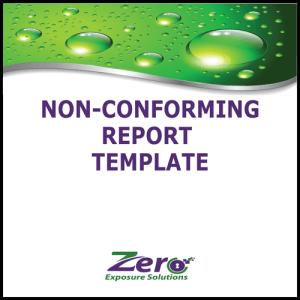 non-conforming-report-template
