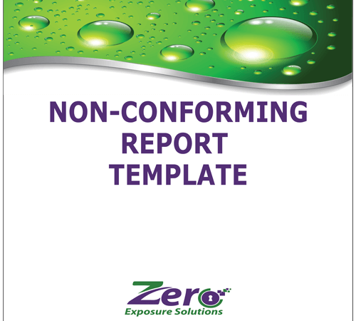 non-conforming-report-template