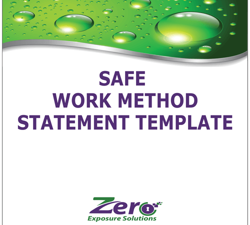 Safe Work Method Statement Template Zero Exposure Solutions – Safe Work Method Statement Template Free