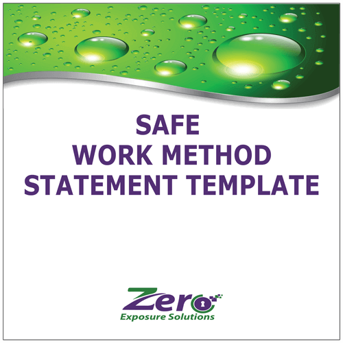 Safe Work Method Statement Template - Zero Exposure Solutions