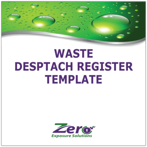 waste-desptach-register-template